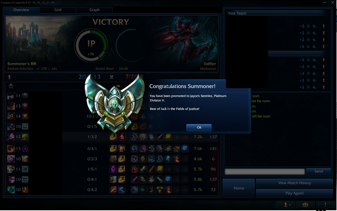 ELO boost from Gold 1 to Platinum 5 by Zinxx
