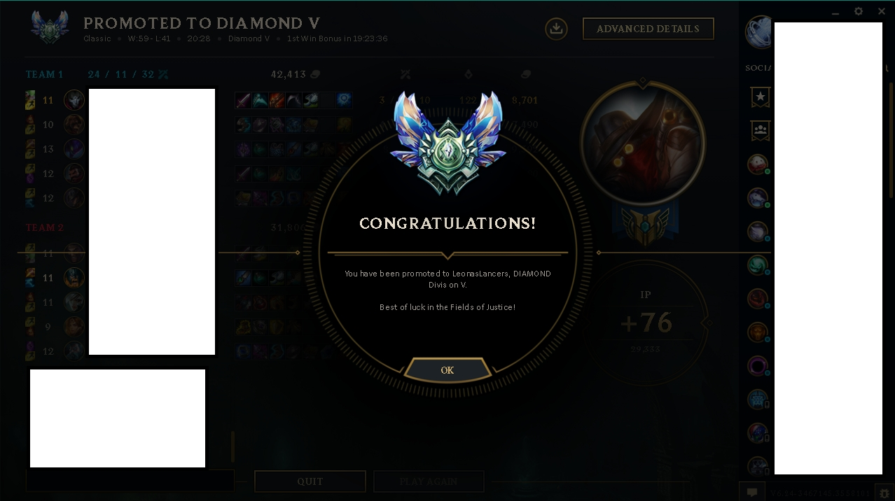 Fast elo boost from Silver 5 to Gold 1 by Caskeey