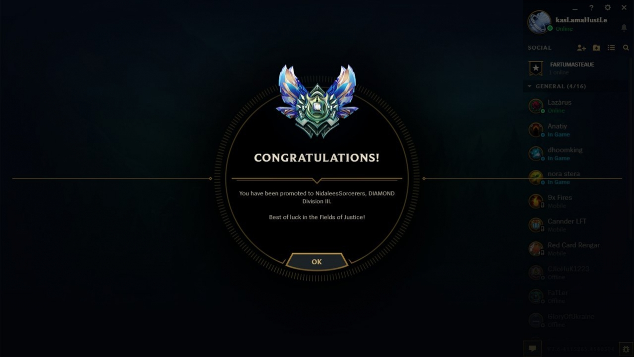 Boosteria fast rank up from Platinum 5 to Diamond 3 by Tsunami228