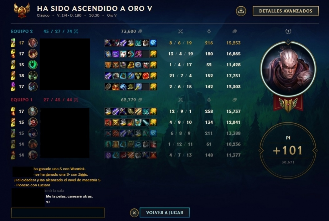 Elo boosting service from Silver 1 to Gold 5 by Bluejonh