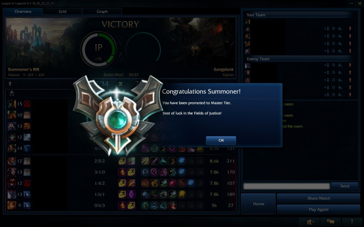 Boosteria fast rank up from Diamond 1 to Master 1 by Hogi