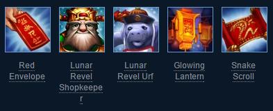 2013 Lunar Revel Summoner Icons League of Legends