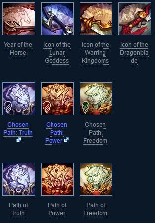2014 Lunar Revel Summoner Icons League of Legends