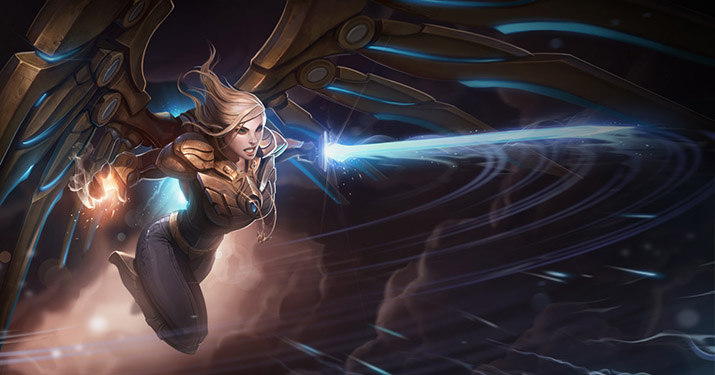 Aether Wing Kayle LoL skin