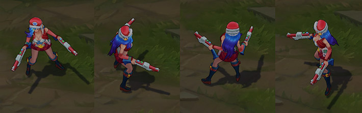 Arcade Miss Fortune ingame model