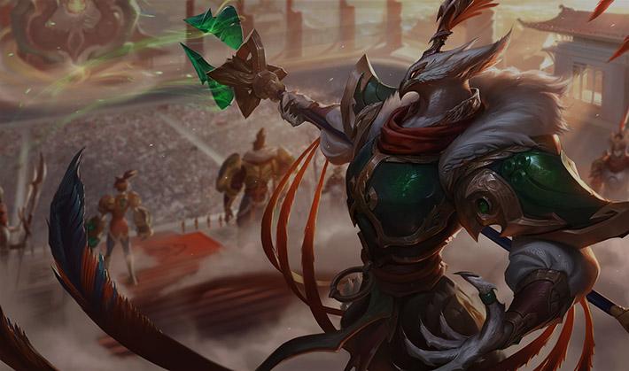 Warring Kingdoms Azir SplasArt