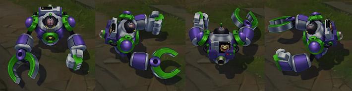 Battle Boss Blitzcrank model