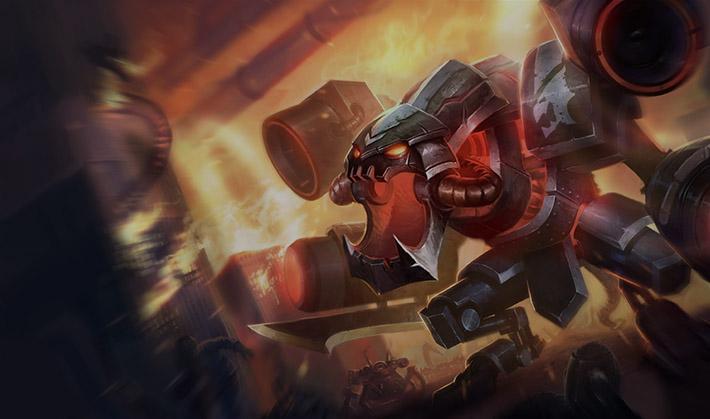 Battlecast Prime Cho'Gath the evolution