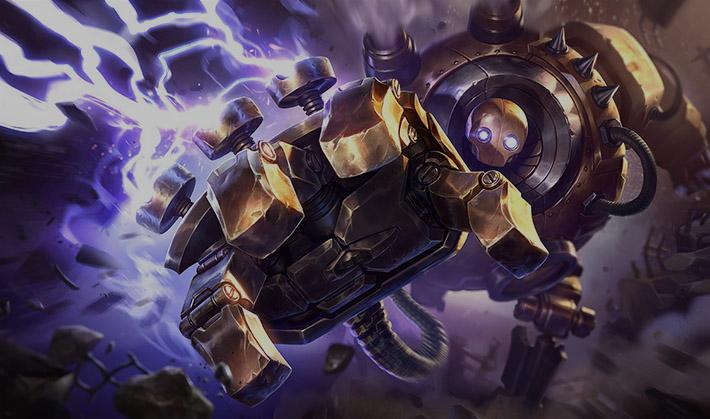 Blitzcrank - the Great Steam Golem