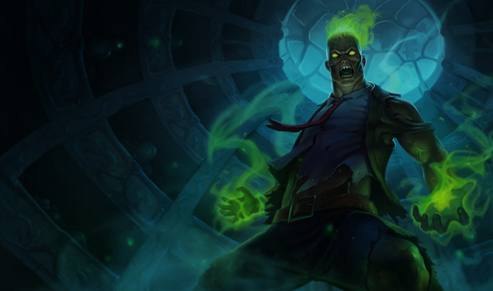 Zombie Brand Splash Art