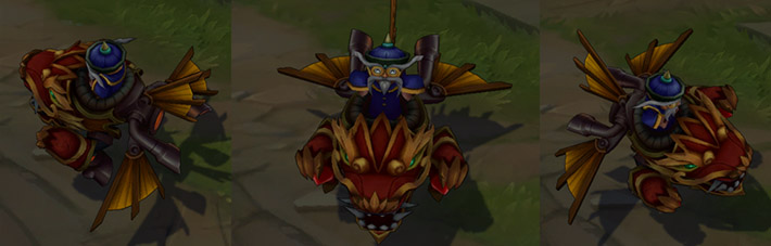 Dragonwing Corki Actions