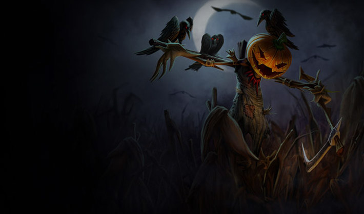 Fiddlesticks Pumpkinhead splash