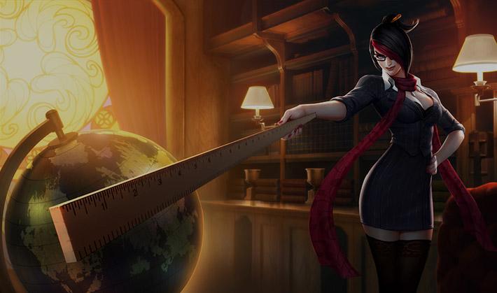 Headmistress Fiora SplashArt