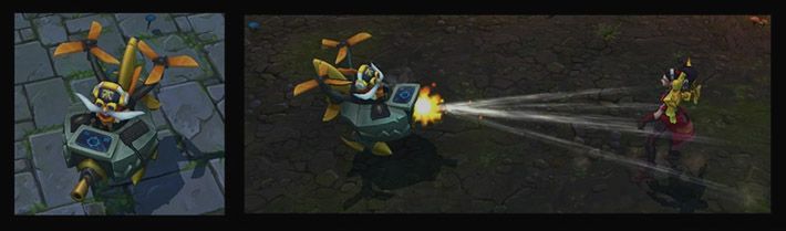 Fnatic Corki - World's Winner skin
