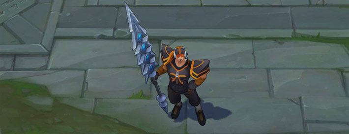 Fnatic Jarvan - World's Winner skin
