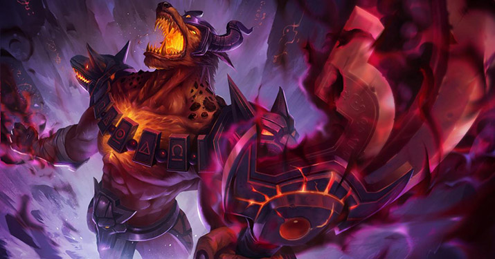 Infernal Nasus Legendary skin