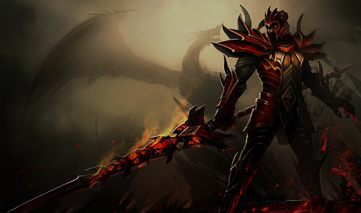 Dragonslayer Jarvan splashart