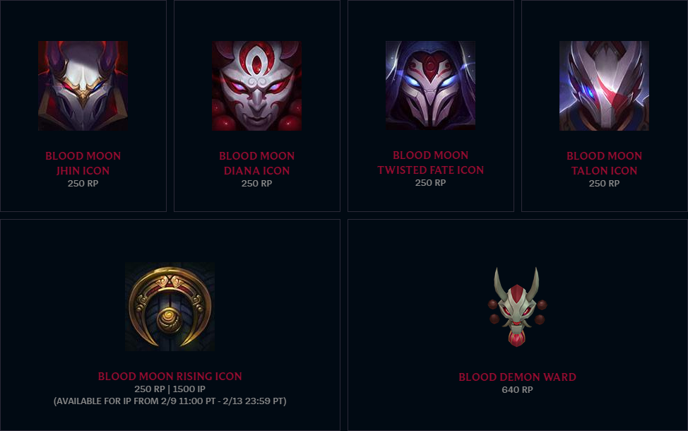 Blood Moon icon pack