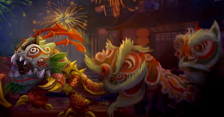 Kog Maw Lion Dance skin