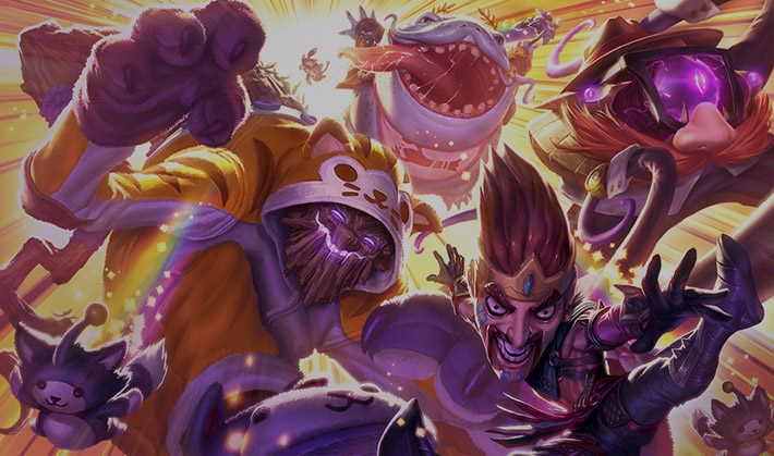 League of Draven splash art