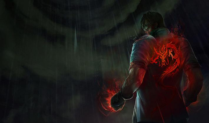 Dragon Fist Lee Sin New Splash Art