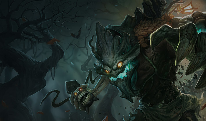 Haunted Maokai SplashArt