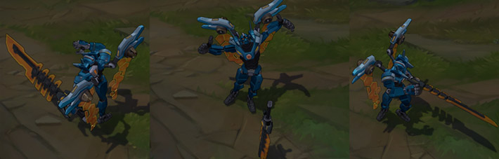 Mecha Aatrox lol skin