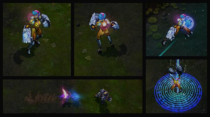 Neon Strike Vi abilities