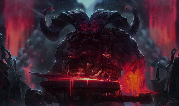 Ornn the fire below the mountain