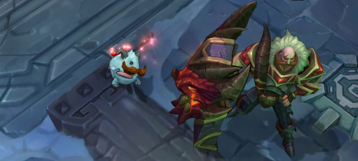 PORO ORANGE MOUSTACHE EASTER EGG