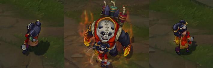 Panda Annie Skin