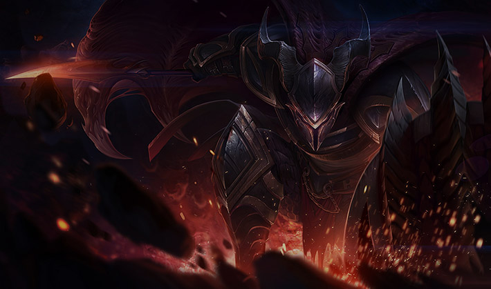 Dragonslayer Pantheon splash art