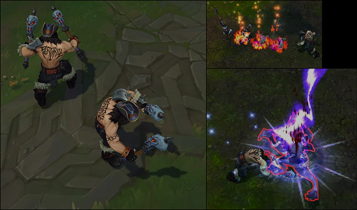 Pentakill Olaf abilities preview
