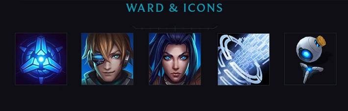 Pulsefire Icons and Wards