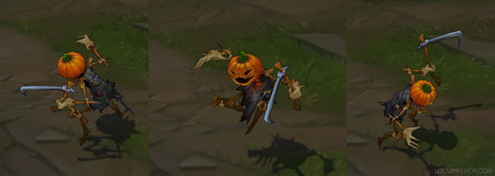 Fiddlesticks Pumpkinhead skin