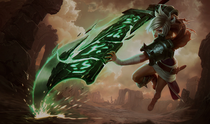 Riven best top champion in LoL