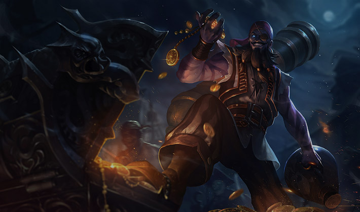 Pirate Ryze SplashArt