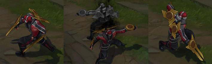 SKT T1 Zed - World Championship Winner skin