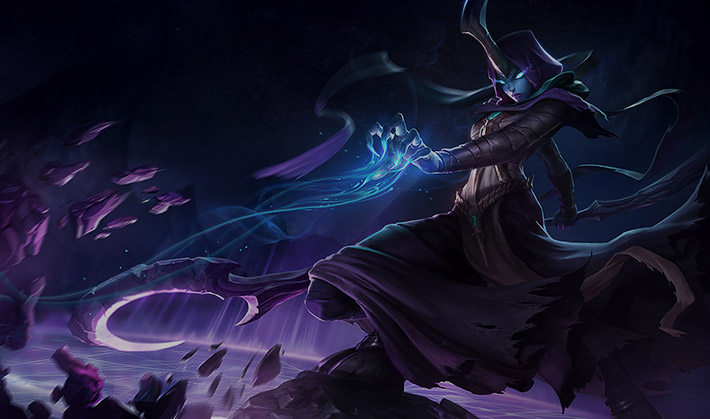 Reaper Soraka Splash Art