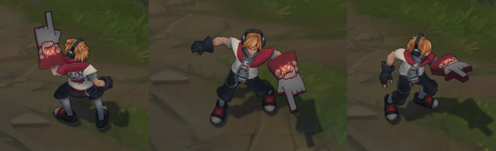 TPA Ezreal - World Championship Winner skin