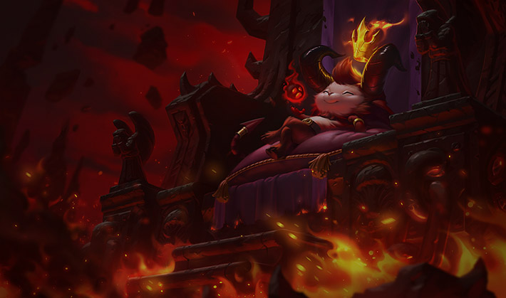 Little Devil Teemo Splash Art
