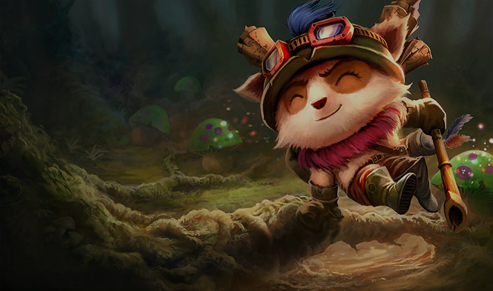 Teemo lol champion