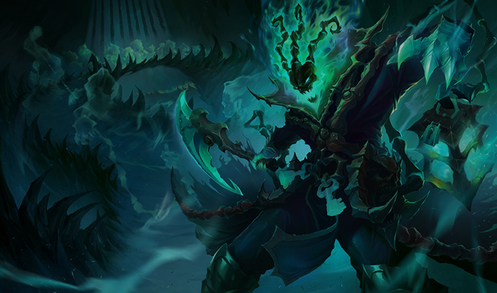 Thresh best support in LoL