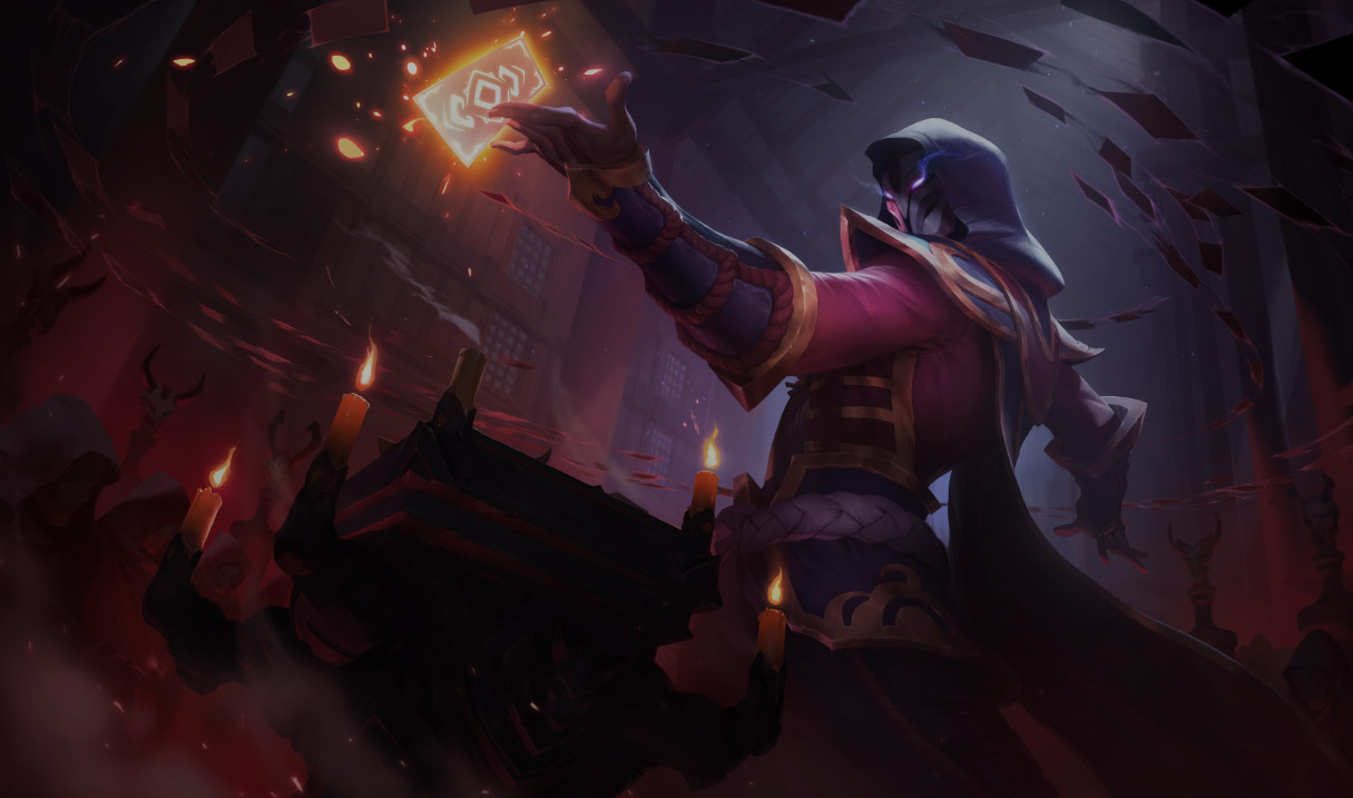 Blood Moon In League Event Skins Splash Arts Of Lol Event