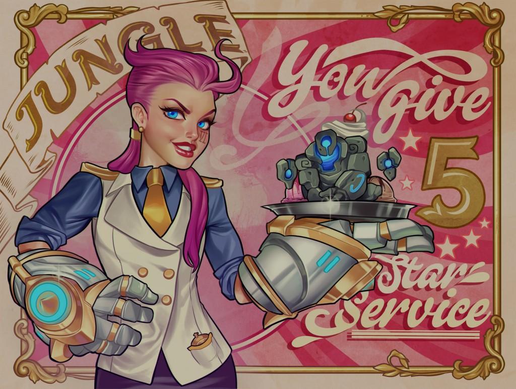 Jungle valentine league of legends