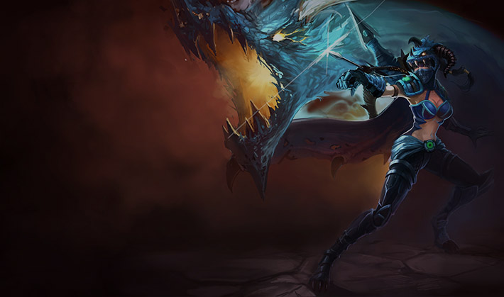 Dragonslayer Vayne splash art