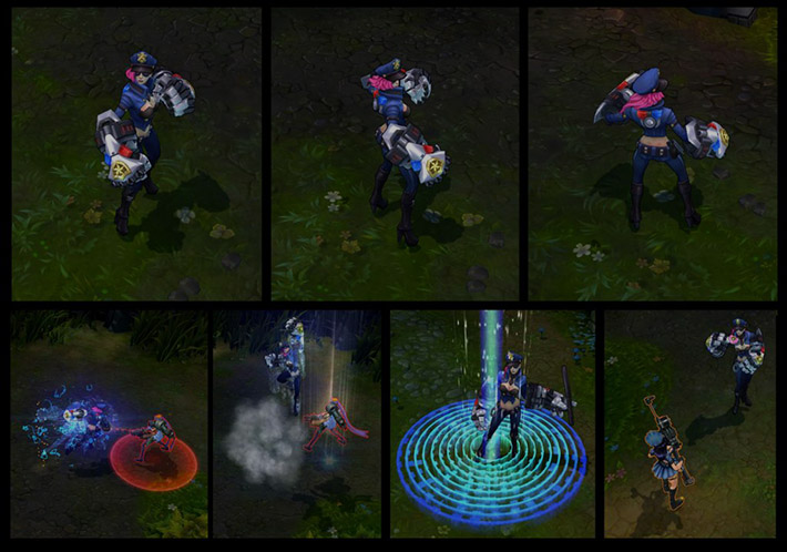 Officer Vi New Animations