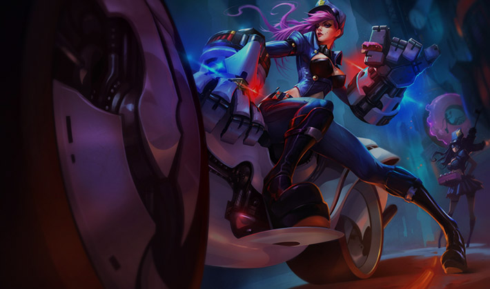 Officer Vi Splash Art