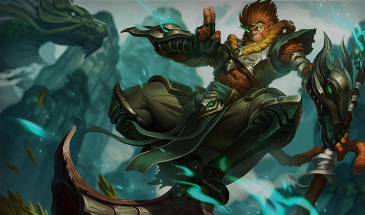 Jade Dragon Wukong SplashArt