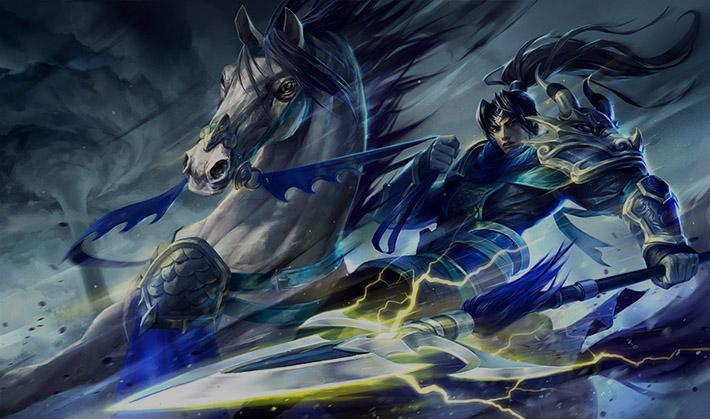 Warring Kingdoms Xin Zhao Splash Art